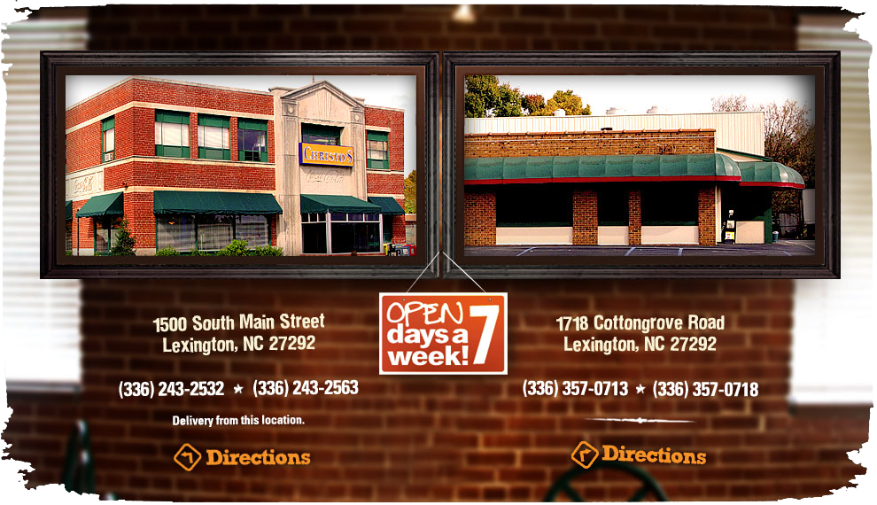Two Locations in Lexington, NC - 1500 South Main Street & 1718 Cottongrove Road